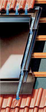 Водонепроницаемость соединения окна с кровельным материалом
